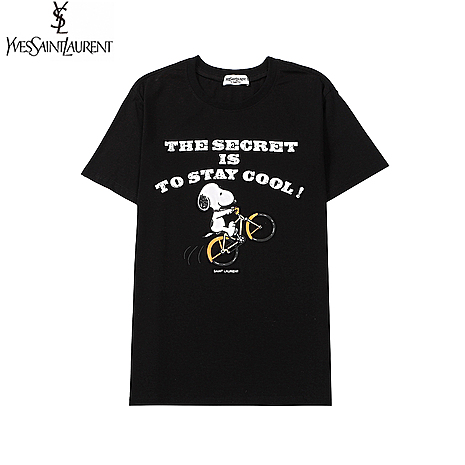 YSL T-Shirts for MEN #466655 replica