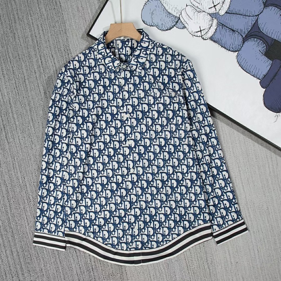 Dior shirts for Dior Long-Sleeved Shirts for men #465875 replica