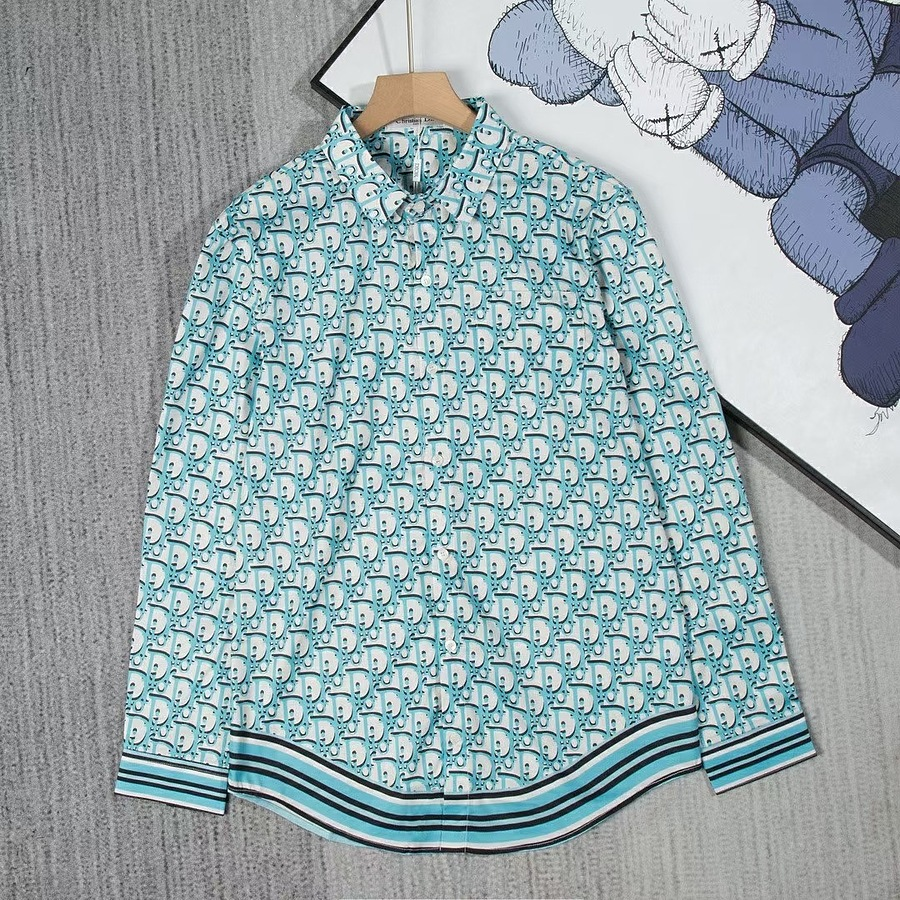 Dior shirts for Dior Long-Sleeved Shirts for men #465876 replica