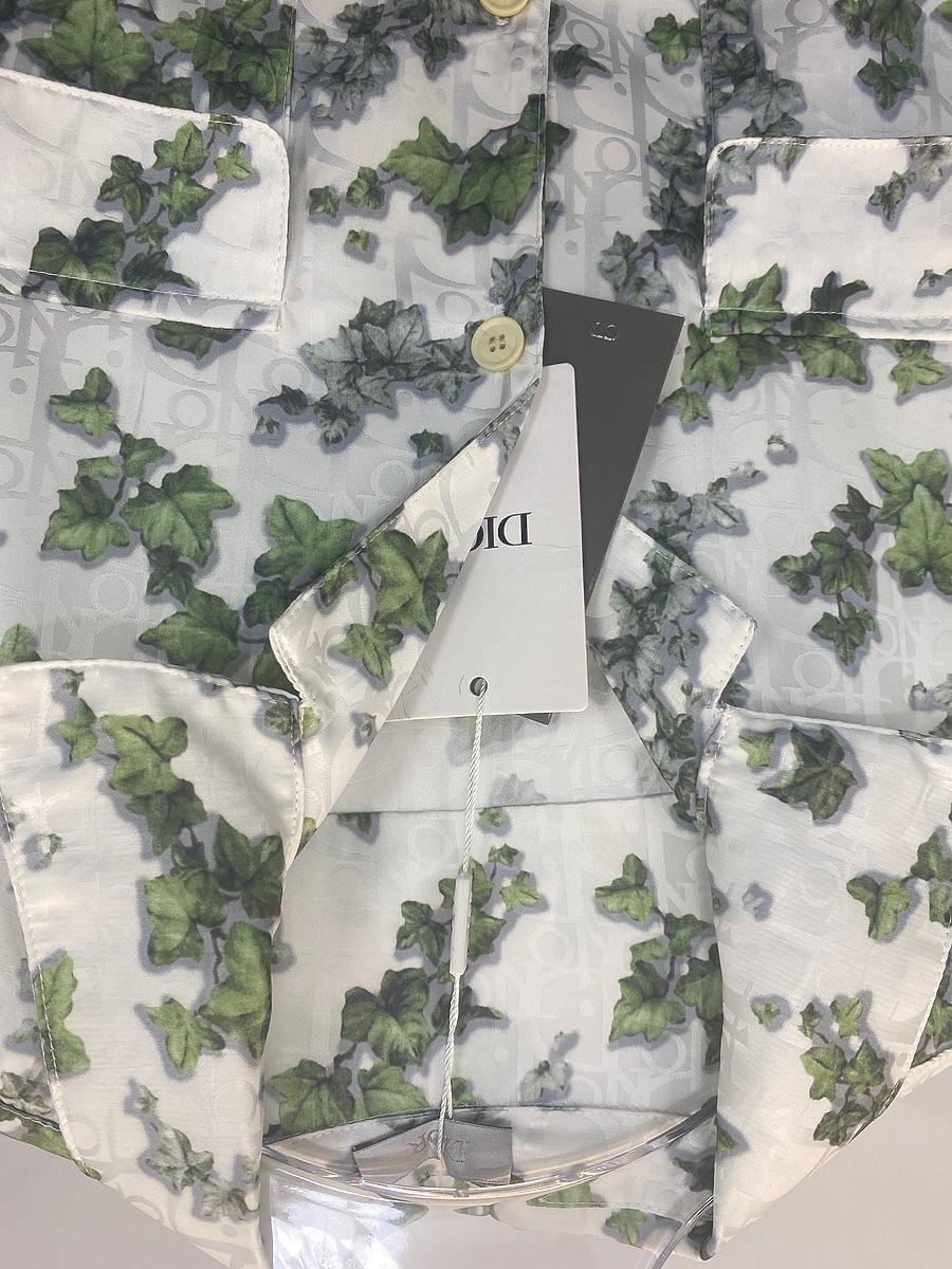 Dior shirts for Dior Short-sleeved shirts for men #466079 replica