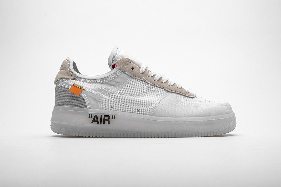 OFF WHITE& & Nike Air Force 1 Shoes for men #466785 replica