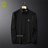 US$38.00 Versace Shirts for Versace Long-Sleeved Shirts for men #465725