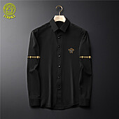 US$38.00 Versace Shirts for Versace Long-Sleeved Shirts for men #465736
