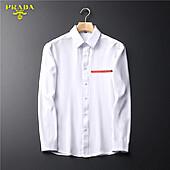 Prada Shirts for Prada long-sleeved shirts for men #465855