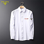 Prada Shirts for Prada long-sleeved shirts for men #465862