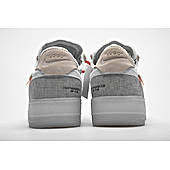 US$75.00 OFF WHITE& & Nike Air Force 1 Shoes for men #466785
