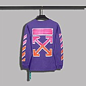 OFF WHITE T-Shirts for OFF WHITE  Long-sleevsd T- shierts for men #469056