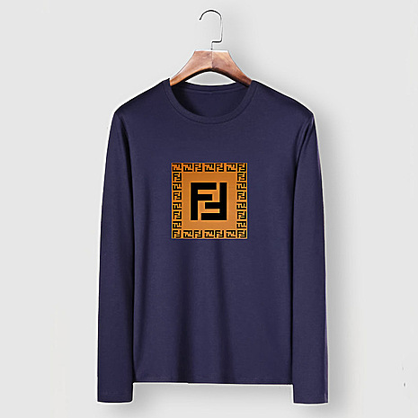 Fendi Long-Sleeved T-Shirts for MEN #477153 replica