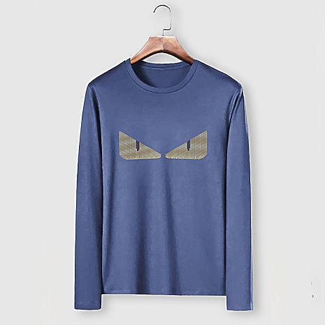 Fendi Long-Sleeved T-Shirts for MEN #477157 replica
