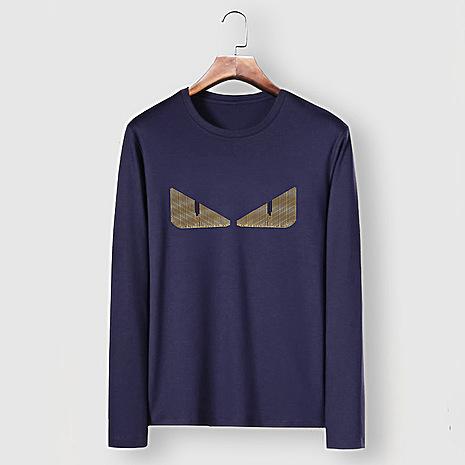 Fendi Long-Sleeved T-Shirts for MEN #477158 replica