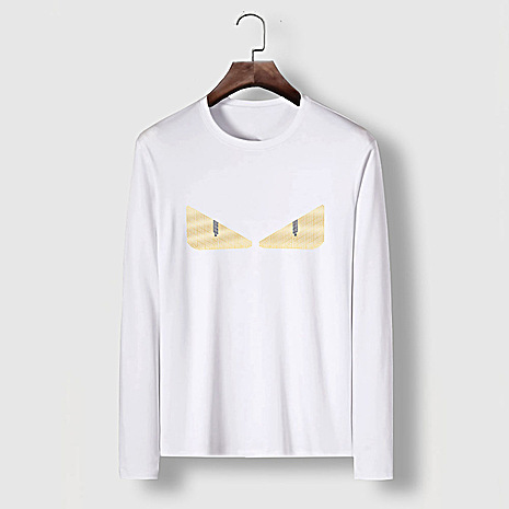 Fendi Long-Sleeved T-Shirts for MEN #477161 replica