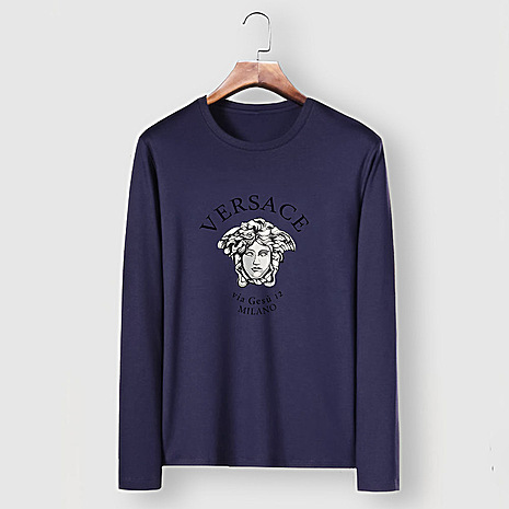 Versace Long-Sleeved T-Shirts for men #477309 replica