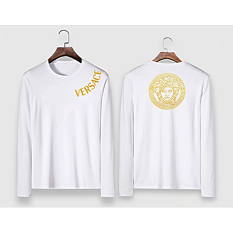 Versace Long-Sleeved T-Shirts for men #477315 replica