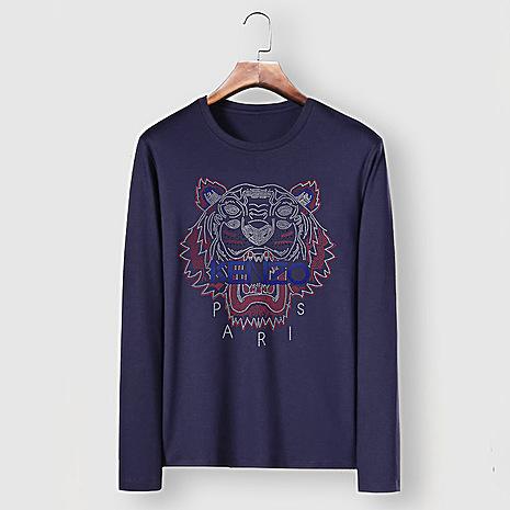 KENZO long-sleeved T-shirt for Men #478085 replica
