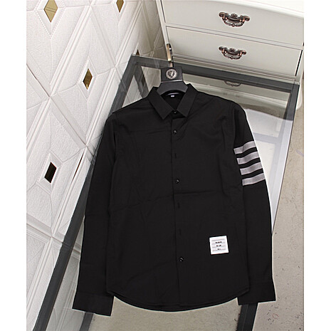 THOM BROWNE Shirts for THOM BROWNE Long-Sleeved Shirt for men #478291 replica