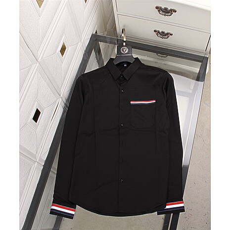 THOM BROWNE Shirts for THOM BROWNE Long-Sleeved Shirt for men #478293 replica