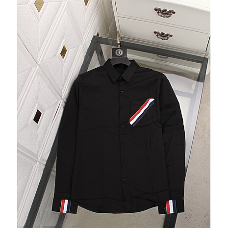 THOM BROWNE Shirts for THOM BROWNE Long-Sleeved Shirt for men #478295 replica