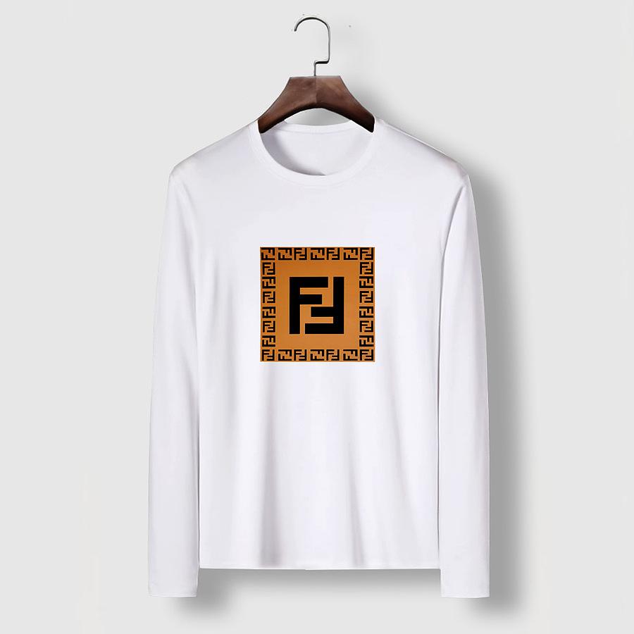 Fendi Long-Sleeved T-Shirts for MEN #477156 replica