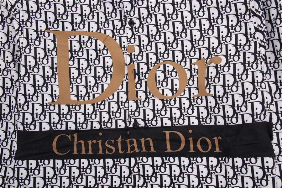 Dior shirts for Dior Long-Sleeved Shirts for men #478145 replica