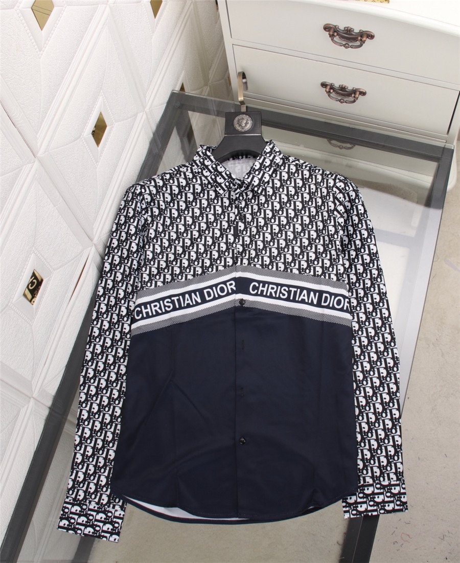 Dior shirts for Dior Long-Sleeved Shirts for men #478146 replica