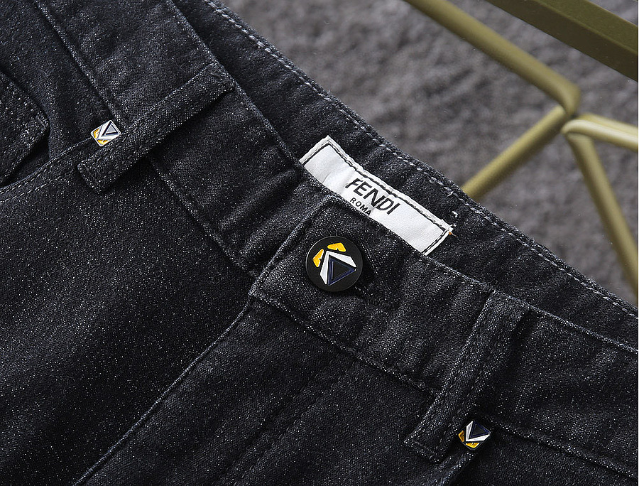 FENDI Jeans for men #478151 replica