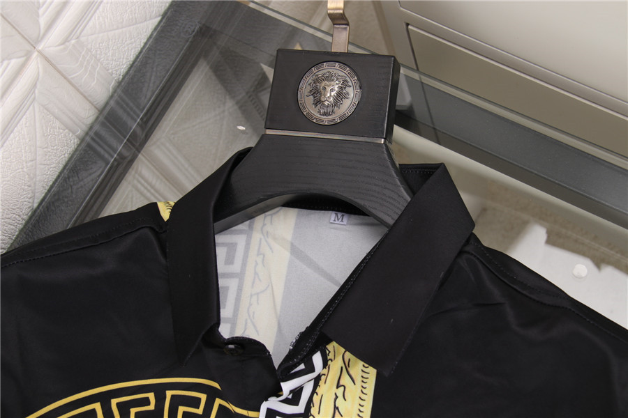 Versace Shirts for Versace Long-Sleeved Shirts for men #478220 replica