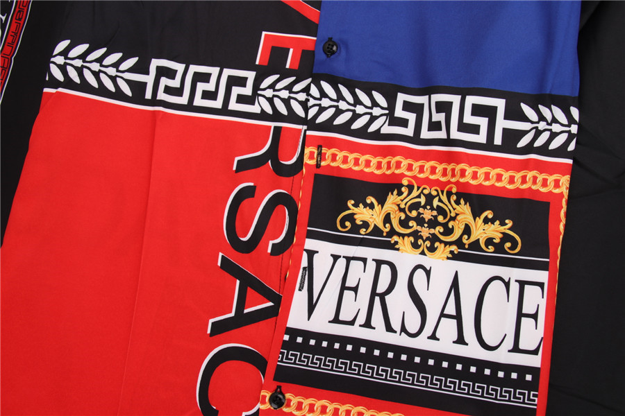 Versace Shirts for Versace Long-Sleeved Shirts for men #478222 replica