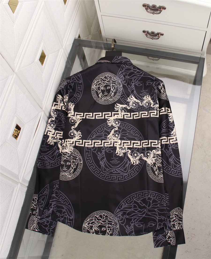 Versace Shirts for Versace Long-Sleeved Shirts for men #478223 replica