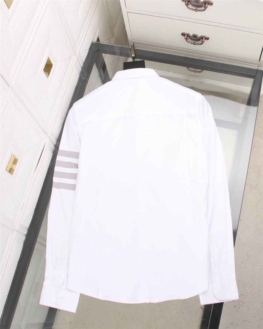 THOM BROWNE Shirts for THOM BROWNE Long-Sleeved Shirt for men #478290 replica