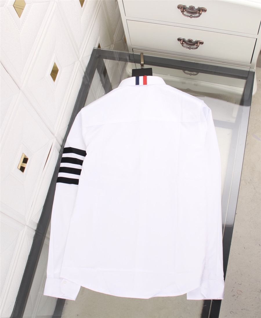 THOM BROWNE Shirts for THOM BROWNE Long-Sleeved Shirt for men #478294 replica