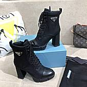 Prada 7.5cm high heeled boots for women #475933