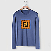 US$23.00 Fendi Long-Sleeved T-Shirts for MEN #477152