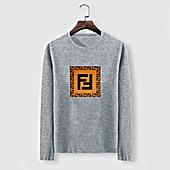 US$23.00 Fendi Long-Sleeved T-Shirts for MEN #477155