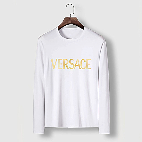 Versace Long-Sleeved T-Shirts for men #481872 replica