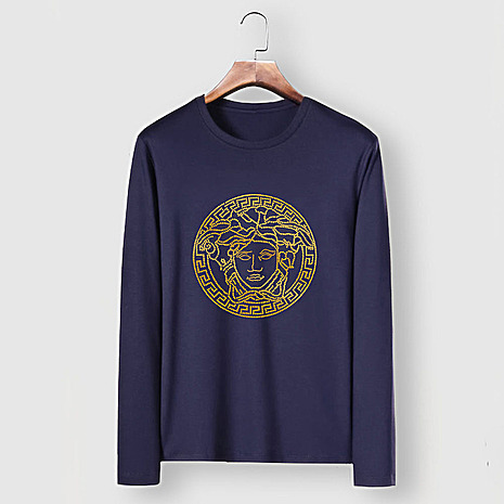Versace Long-Sleeved T-Shirts for men #481876 replica