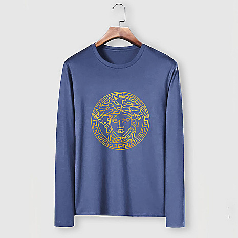 Versace Long-Sleeved T-Shirts for men #481877 replica