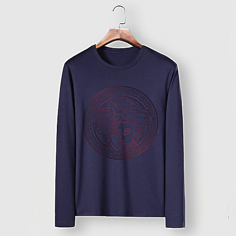 Versace Long-Sleeved T-Shirts for men #481881 replica