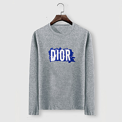 Dior Long-sleeved T-shirts for men #482214 replica