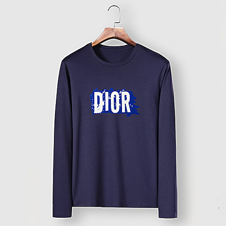 Dior Long-sleeved T-shirts for men #482216 replica