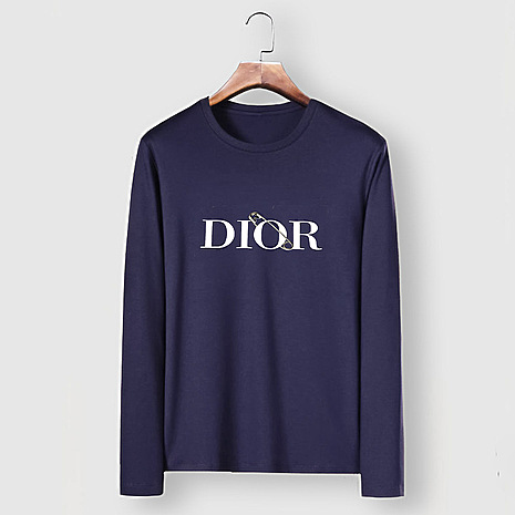 Dior Long-sleeved T-shirts for men #482219 replica