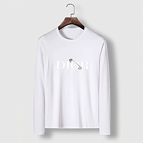 Dior Long-sleeved T-shirts for men #482222 replica