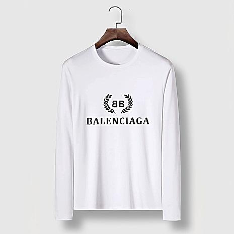 Balenciaga Long-Sleeved T-Shirts for Men #482573 replica