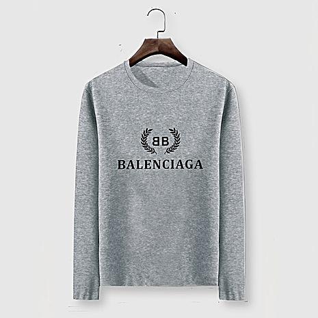Balenciaga Long-Sleeved T-Shirts for Men #482574 replica