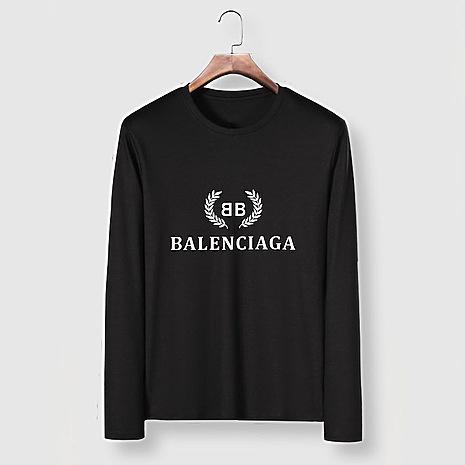 Balenciaga Long-Sleeved T-Shirts for Men #482576 replica