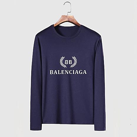 Balenciaga Long-Sleeved T-Shirts for Men #482577 replica