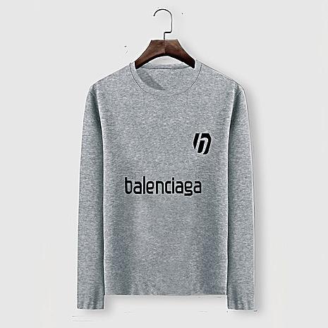 Balenciaga Long-Sleeved T-Shirts for Men #482580 replica