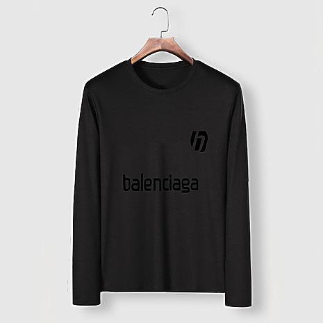 Balenciaga Long-Sleeved T-Shirts for Men #482581 replica