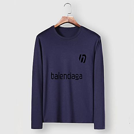 Balenciaga Long-Sleeved T-Shirts for Men #482582 replica