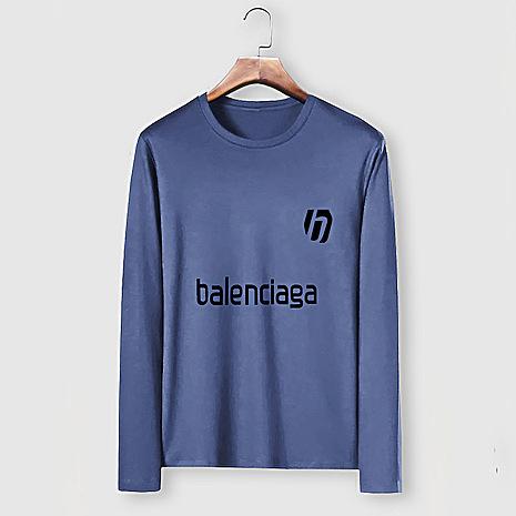 Balenciaga Long-Sleeved T-Shirts for Men #482583 replica