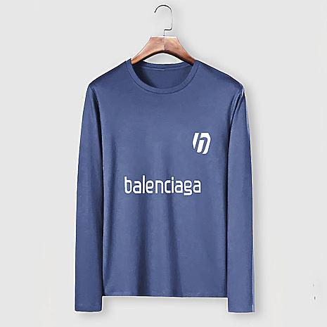 Balenciaga Long-Sleeved T-Shirts for Men #482584 replica